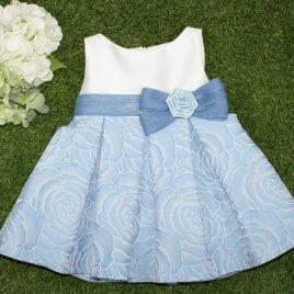 Vestido con falda estampada coleccion Diamante MARTA Y PAULA (Ref. 0536)