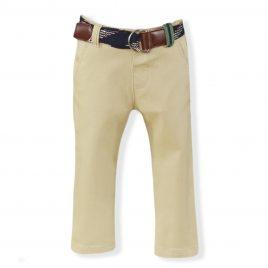Pantalon Largo Bebe con cinturon. Miranda (Ref. 24/1108/3)