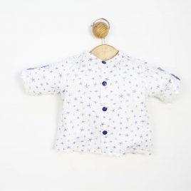 Camisa Plumeti Estampado Estrellas. Confecciones Popys (Ref. 20604)