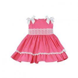 Vestido Bebe Tono Coral. Miranda (Ref. 27/0175/V)