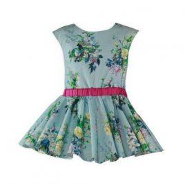 Vestido Infantil Estampado. Miranda (Ref. 27/0618/V)