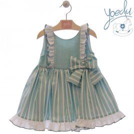 Vestido Infantil . Familia Pensamiento. Yoedu (Ref. 0513)