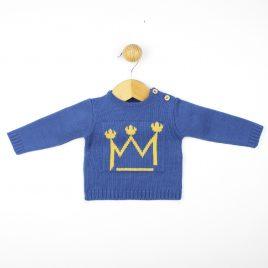 Jersey en Punto Dralon Estampado Corona. Confecciones Popys (Ref. 23330)