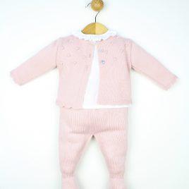 Conjunto 3 Piezas: Rebeca, Camisa y Polaina. Confecciones Popys (Ref. 23395)