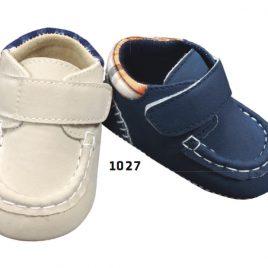 Zapato Mocasin Tela Bebe. Le Petit Garson. (Ref. 1027)