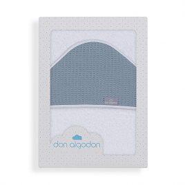 Capa de Baño Astrid Petroleo 100% Algodon. Don Algodon (Ref. D 1196)